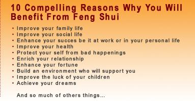 Feng Shui Benefit